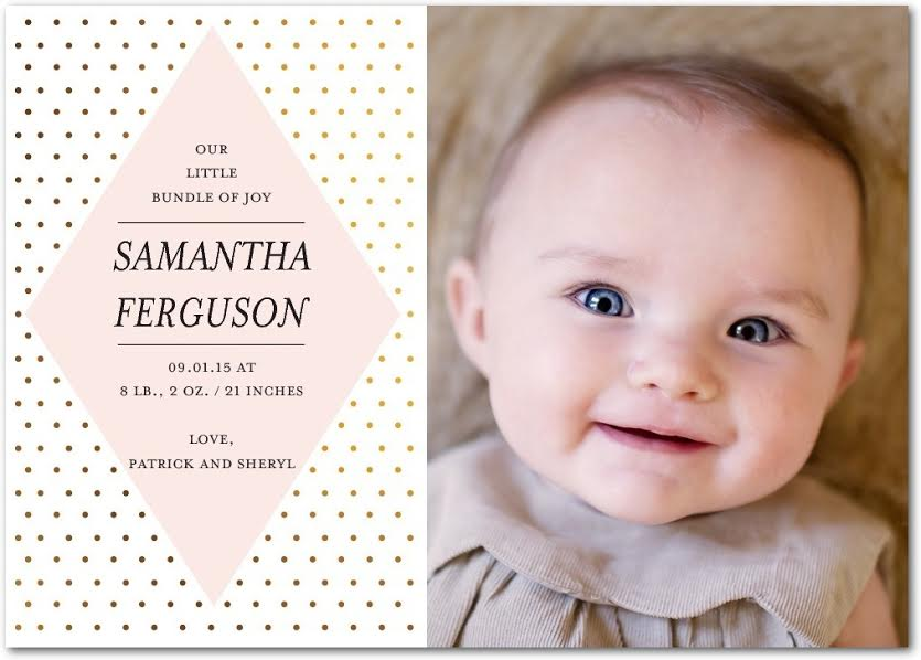 unnamed 28 Birth Announcements from Tiny Prints!  Pottery Barn Collection!