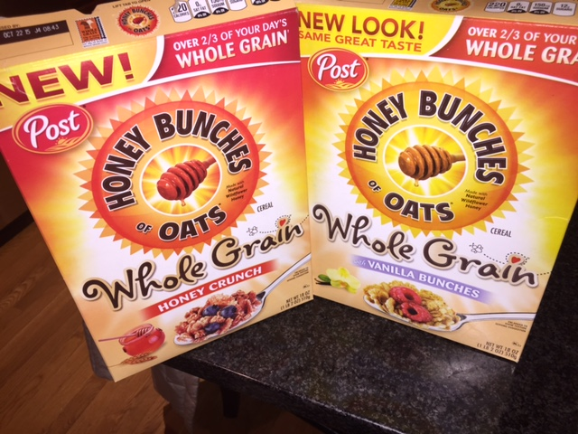 unnamed 9 The New Honey Bunches of Oats Whole Grain Cereals are Delicious!