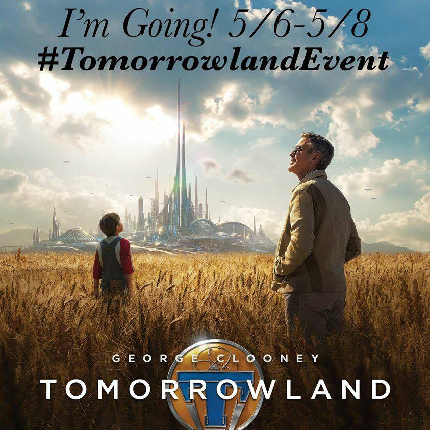 20825 10204747729025358 5929697844668959331 n WALT DISNEY STUDIOS AND DISNEY PARKS TEAM UP TO SHOWCASE EXCLUSIVE SNEAK PEEK OF DISNEYS TOMORROWLAND MOVIE!