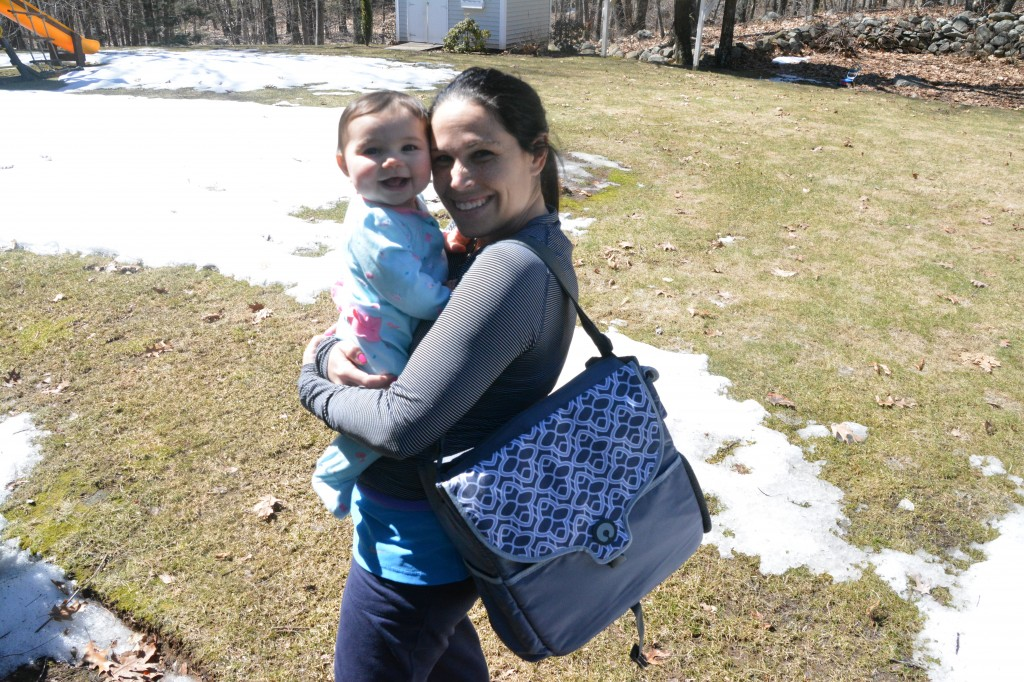 DSC 0926 1024x682 The Boppy™ Diaper Bags are fashionable, functional and help mom stay organized! #boppydiaperbags