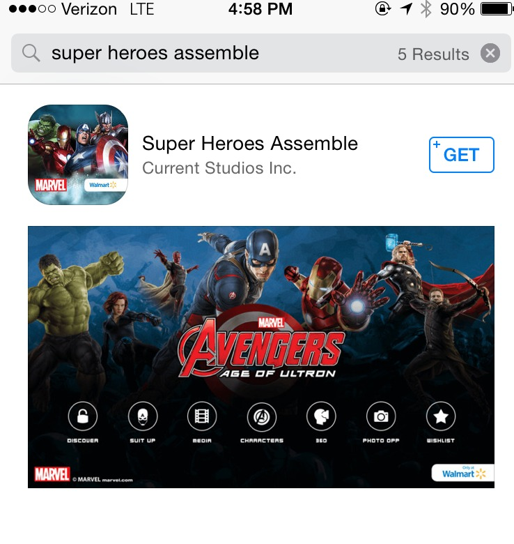 IMG 1874 Lets Have Fun! MARVELs The Avengers: Age of Ultron App is Exciting!