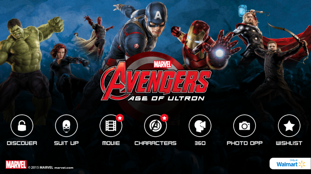IMG 1961 1024x575 Lets Have Fun! MARVELs The Avengers: Age of Ultron App is Exciting!