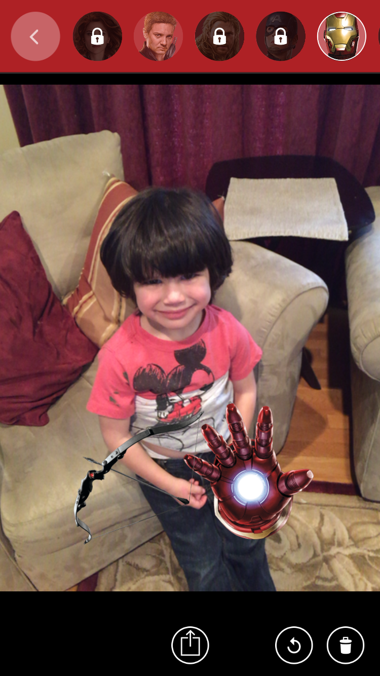 Let's Have Fun! MARVEL's The Avengers: Age of Ultron App is Exciting!