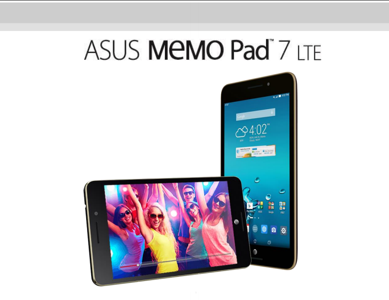 Asus Tablet 7 LTE