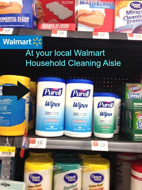 Household Cleaning Aisle