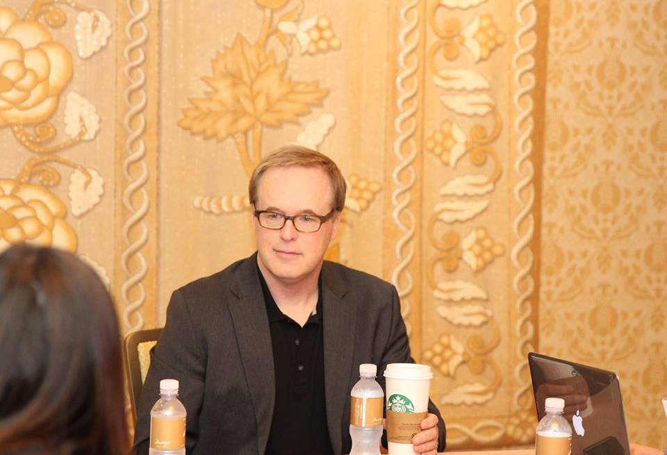 11052525 10106663531102074 3740537763455733488 n Why Yes..I  got to interview the AMAZING Brad Bird and Damon Lindelof! #TomorrowlandEvent