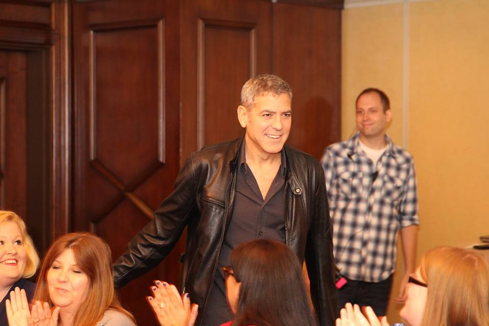 11113136 10106663535957344 7481723781896601267 n My Interview with the ONE and ONLY GEORGE CLOONEY Part 1! #TomorrowlandEvent