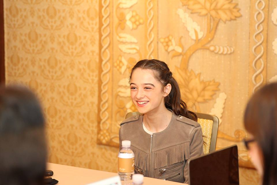 11150953 10106663526301694 3276368750167815002 n My Interview with the Adorable and Talented Raffey Cassidy (Athena) #TomorrowlandEvent