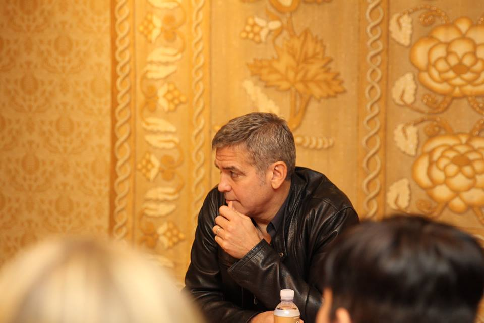 1610927 10106663536306644 5929280805553131439 n My Interview with the ONE and ONLY GEORGE CLOONEY Part 1! #TomorrowlandEvent