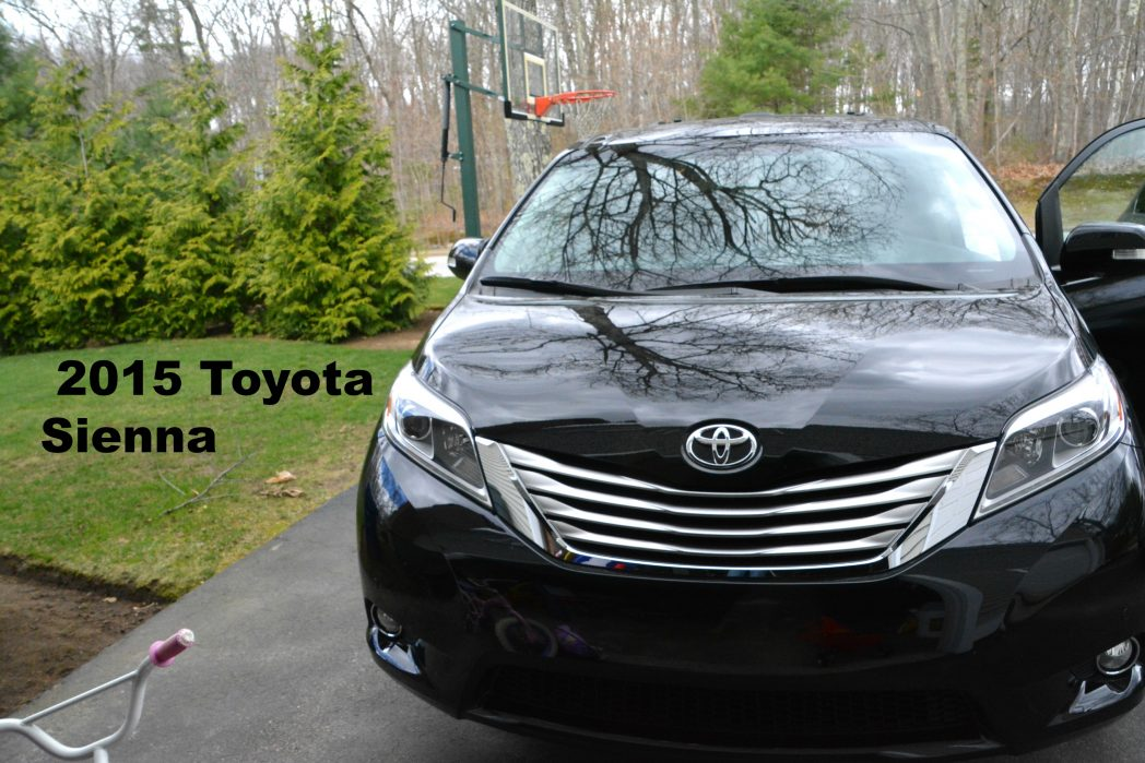 The 2015 Toyota Sienna – What a Ride!!