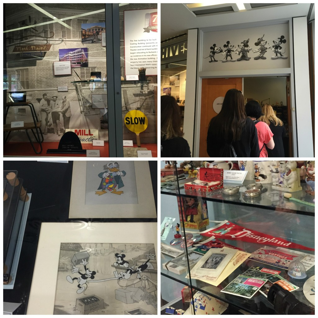 PicMonkey Collage2 1024x1024 We Visited the Disney Archives! What an Incredible Experience! #TomorrowlandEvent