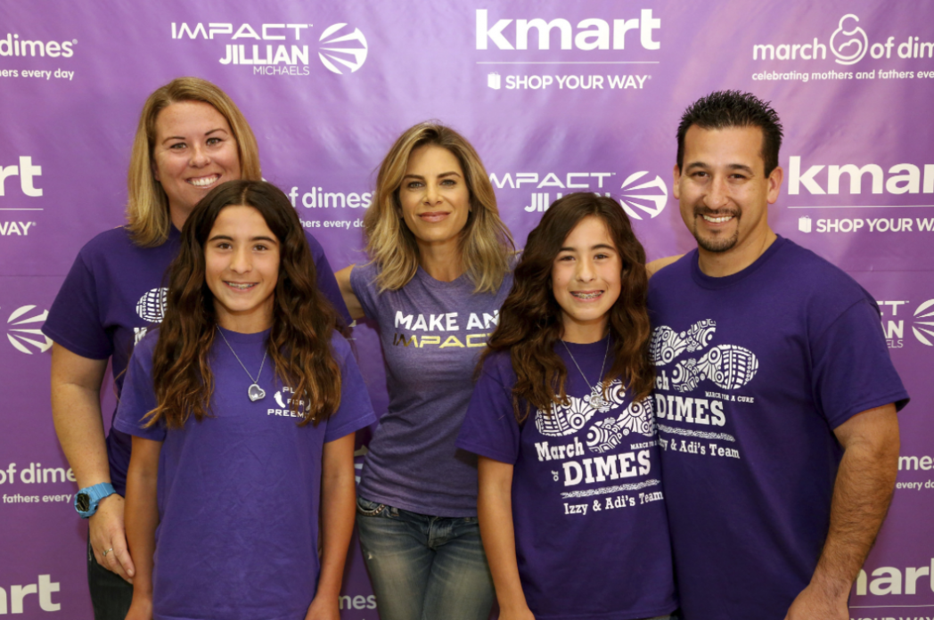 Why I am a huge supporter of March of Dimes and a Jillian Michaels March of Dimes T-Shirt Giveaway (2)! #TeamKmart