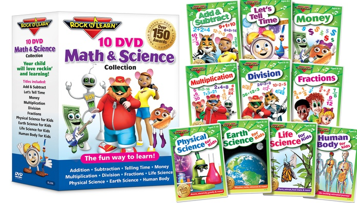 Screen Shot 2015 05 02 at 11.26.02 PM Rock N Learn 10 DVD Math & Science Collection Review + Giveaway!