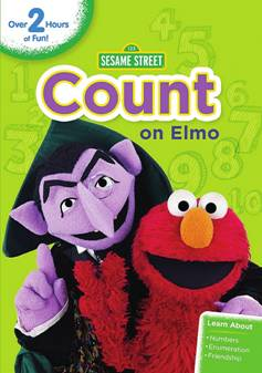 unnamed 93 Sesame Street: Count on Elmo DVD!