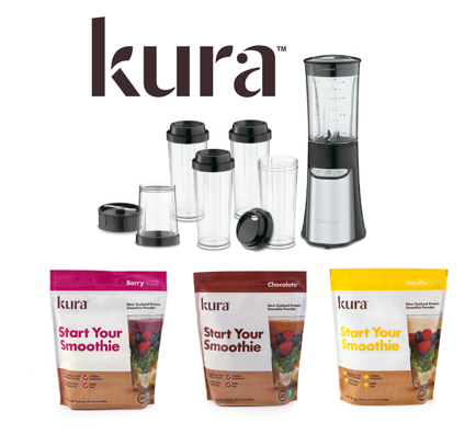 unnamed Kura Smoothie Powders Review + Cuisinart Blender Giveaway!! #StartYourSmoothie