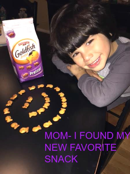 unnamed 10 Having Fun with Goldfish Pretzel Snacks!