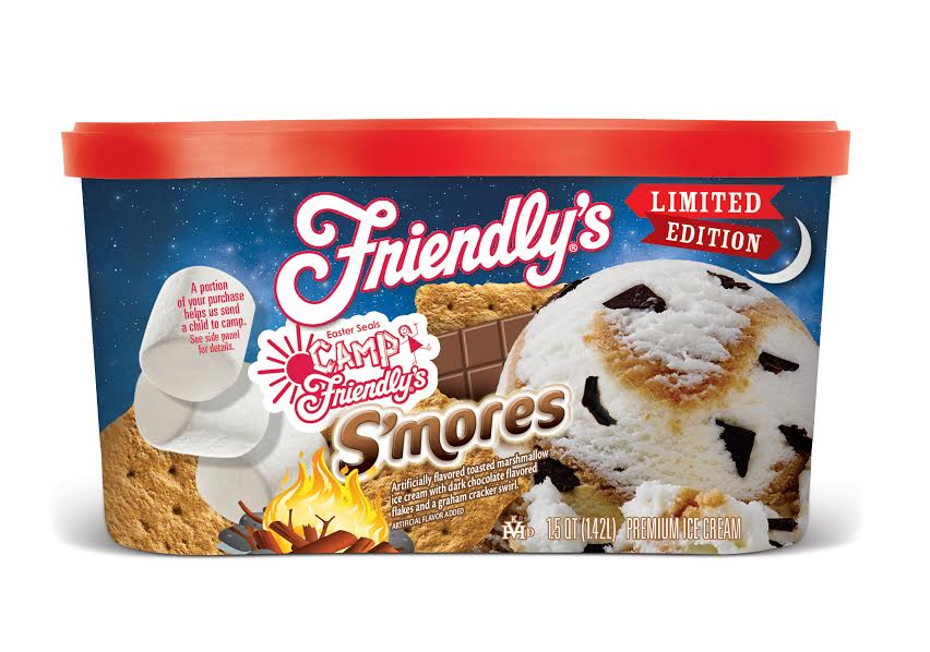 unnamed 39 Friendly's new limited edition S'mores Ice Cream gives back to the Easter Seals
