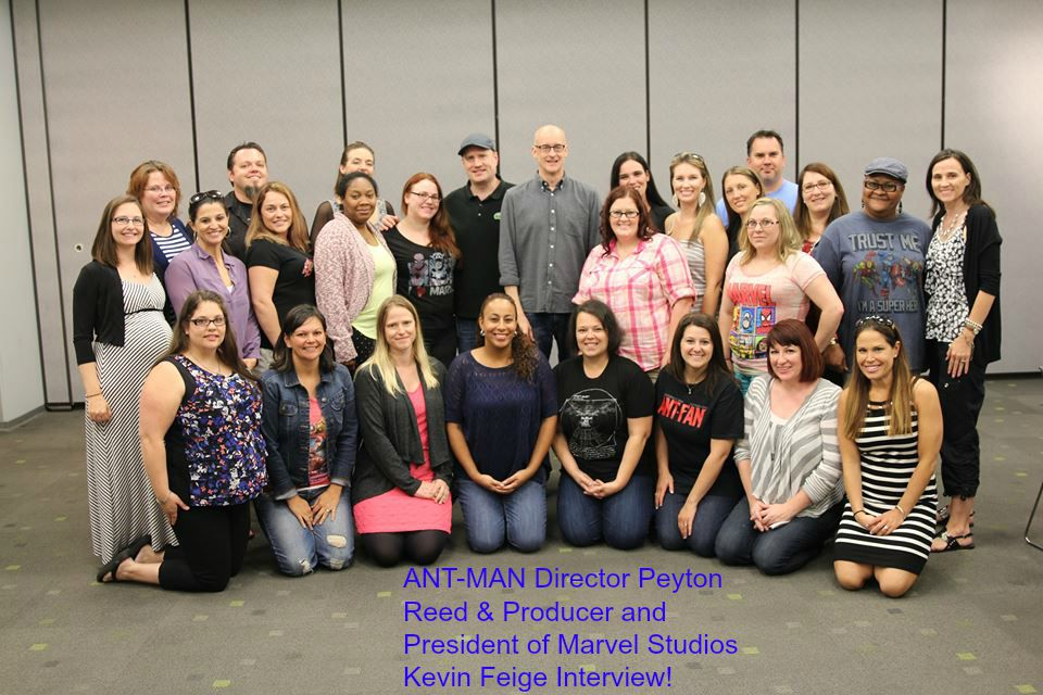 10413326 10106906518837704 7611561140888789722 n ANT MAN Director Peyton Reed & Producer and President of Marvel Studios Kevin Feige Interview! #Marvel #AntManEvent