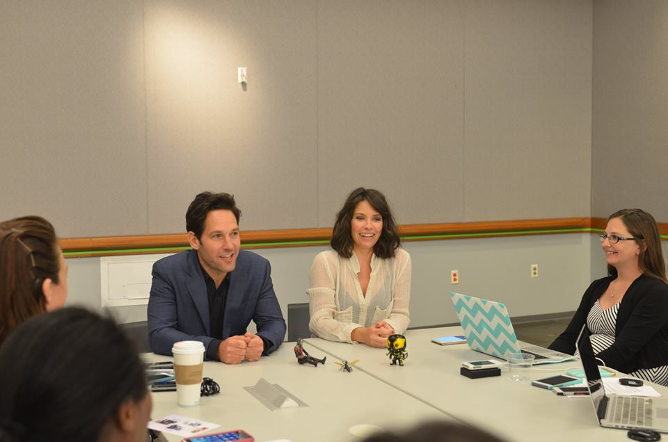 11390029 10106912094274484 3492930091020710154 n Say What! I Got to Interview the Dynamic Duo  Paul Rudd and Evangeline Lilly from Ant Man! #AntManEvent