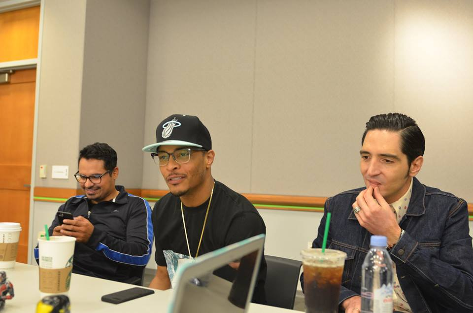 11403219 10106912098501014 2107139959382102400 n The Funniest Interview to Date: ANT MAN Michael Pena, T.I. & David Dastmalchian Interview! #AntManEvent