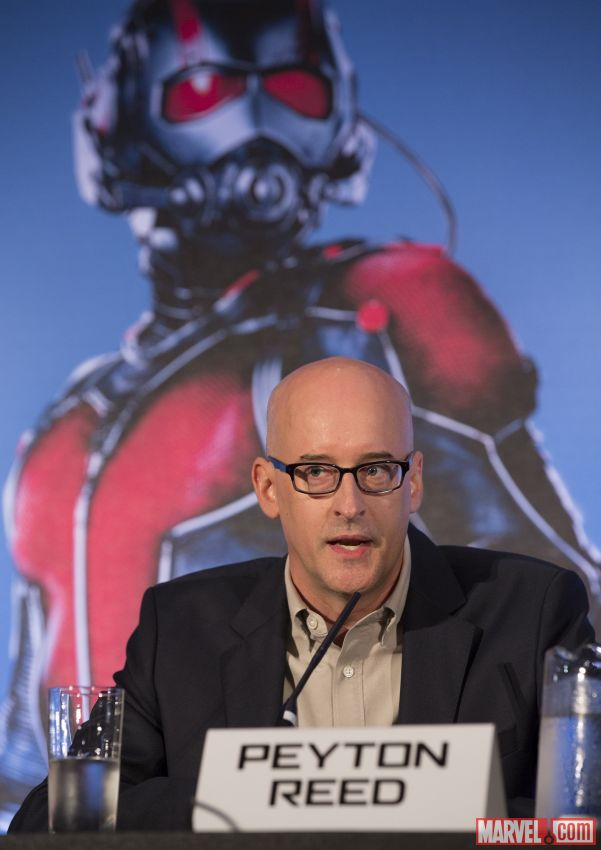 559c1744f0798 ANT MAN Director Peyton Reed & Producer and President of Marvel Studios Kevin Feige Interview! #Marvel #AntManEvent