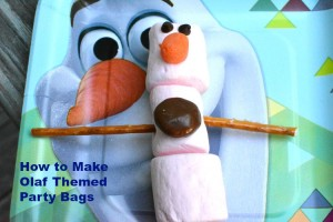 Olaf Themed Party Bags