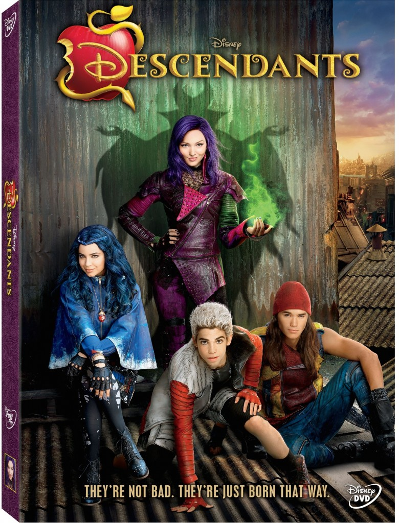 DescendantsDVD copy 780x1024 Disneys Descendants is AMAZING and Debuts JULY 31st on the Disney Channel + a Descendants Giveaway!