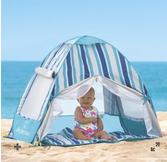 Screen Shot 2015 07 06 at 6.45.57 PM One Step Ahead Beach products Review and a Family Beach Cabana Giveaway!
