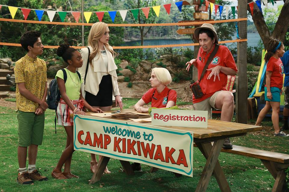 camp kikiwaki What fun! I got to do a Meet and Greet/ with the cast of BUNK'D!