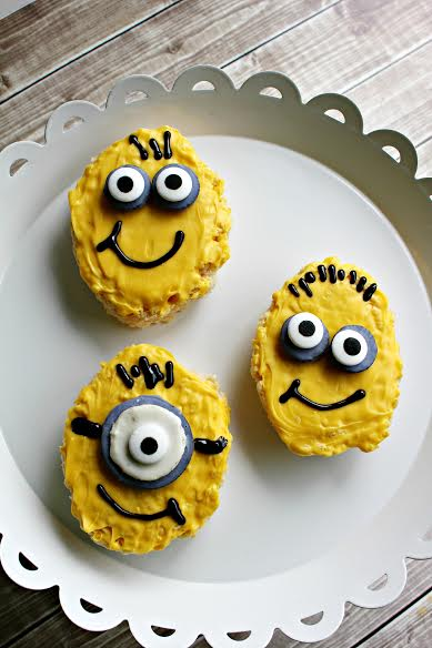 Minion Rice Krispy Treats Recipe