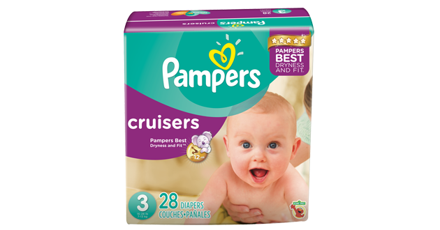 "Cruisers Open Pampers Cruisers and the great new technology! Available now at Babies ""R"" Us!"