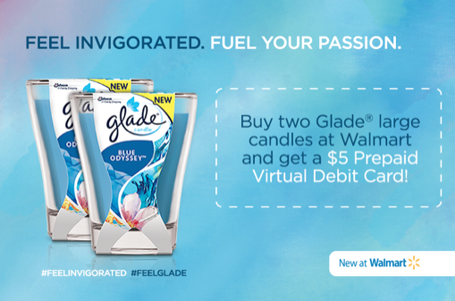 Screen Shot 2015 08 10 at 4.45.08 PM Glade Blue Odyssey Candle Launch at Walmart  Get Your Great Deal Now!!!