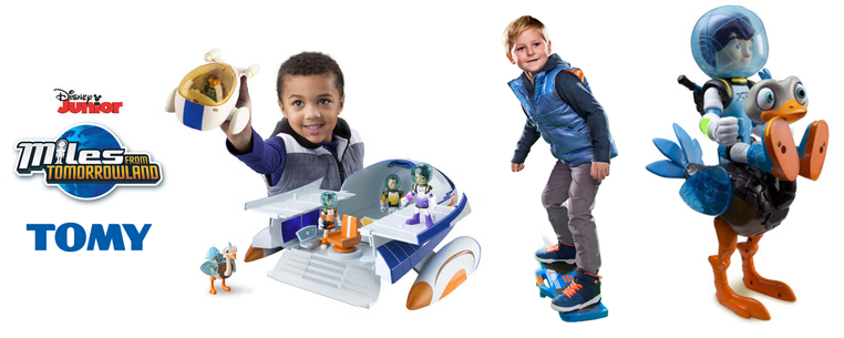 unnamed1 Calling all Miles from Tomorrowland fans! TOMY toys now available!