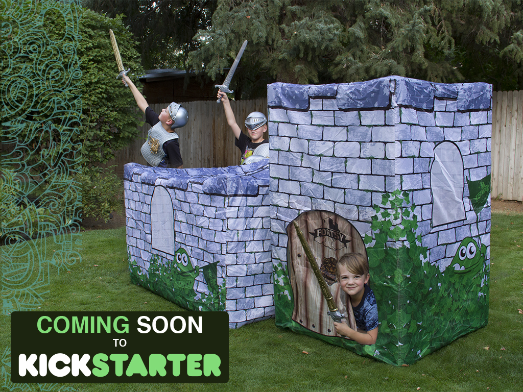 3kids web Cover Inflatable Forts from Fortsy   Childhood Just Got Cooler!