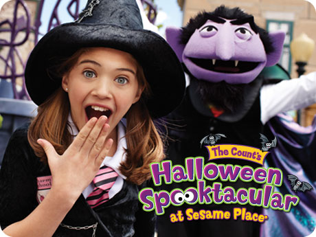 460x345 SpookImage1 Are you ready for Sesame Place THE COUNT'S HALLOWEEN SPOOKTACULAR ?!