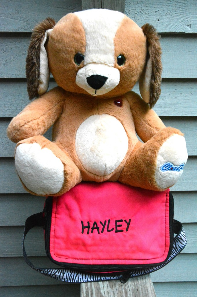 DSC 0132 682x1024 How My Parents Got to Wish Hayley a Happy First Day of School with CloudPets™!