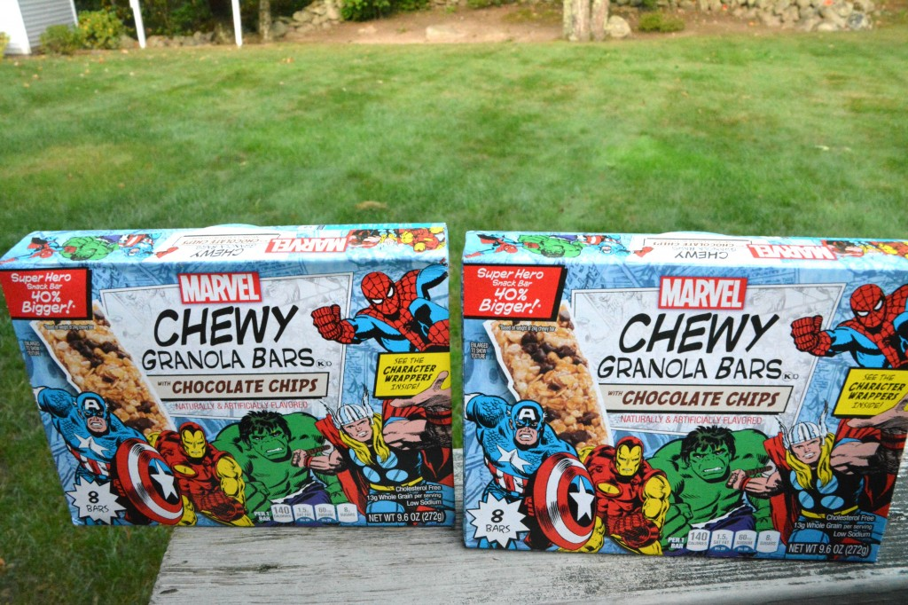 DSC 02481 1024x682 MARVEL Chewy Granola Bars  Lets Make a Cherry Dump Cake!!