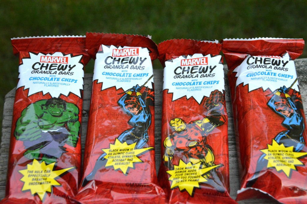 DSC 0252 1024x682 MARVEL Chewy Granola Bars  Lets Make a Cherry Dump Cake!!