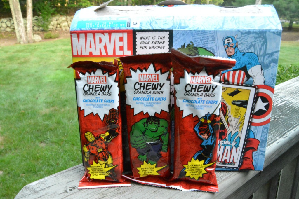 DSC 0256 1024x682 MARVEL Chewy Granola Bars  Lets Make a Cherry Dump Cake!!