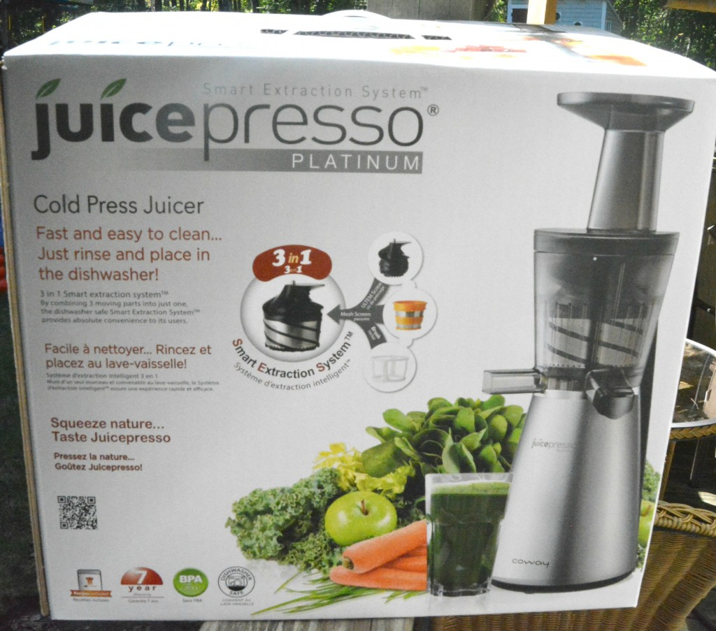 DSC 0382 1024x903 Juicing with the Juicepresso Slow Juicer  An AMAZING Juicer!