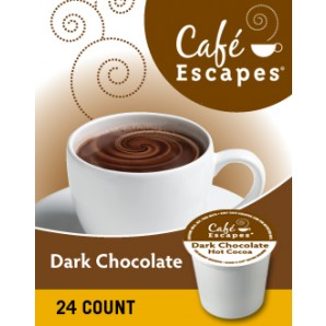 cafe escapes dark chocolate hot cocoa 1 Cross Country Cafe K Cups start my day off right!