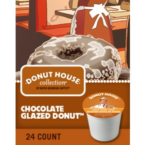 donut house chocolate glazed Cross Country Cafe K Cups start my day off right!
