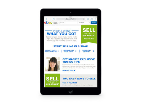 ebay valet sellitnow Declutter Your Home and Make Some Cash with eBay!