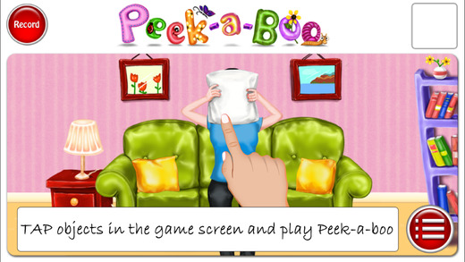 Peek a boo on Your Tablet? What?!