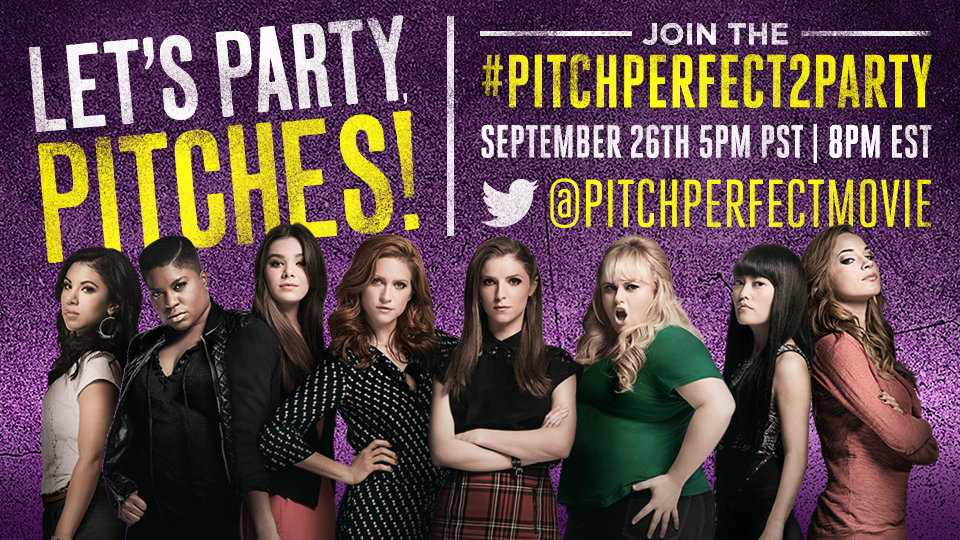 unnamed8  #PitchPerfect2Party Twitter Party Saturday 9/26 8 PM EST! @PitchPerfect