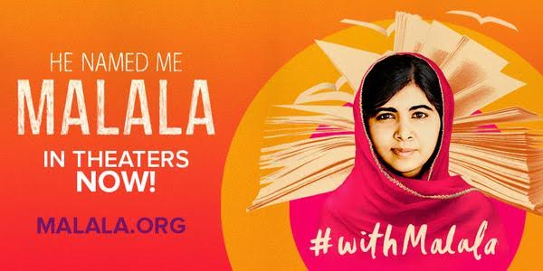 CQVwypqUkAATsP8 Why You Should See He Named Me Malala in the Movies?! #withMalala