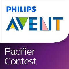 Philips Avent Pacifier Design Contest Logo Moms/Dads Be sure to check out the Pacifier Design Contest for the chance to WIN big!!