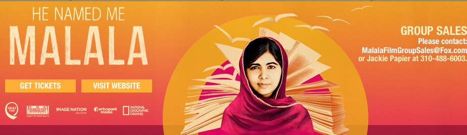 Screen Shot 2015 10 11 at 8.07.34 PM He Named Me Malala in Theaters Now! #HeNamedMeMalala #withmalala