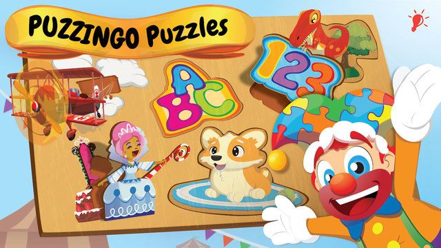 Toddler Puzzles with Puzzingo! Download the Puzzle App Today