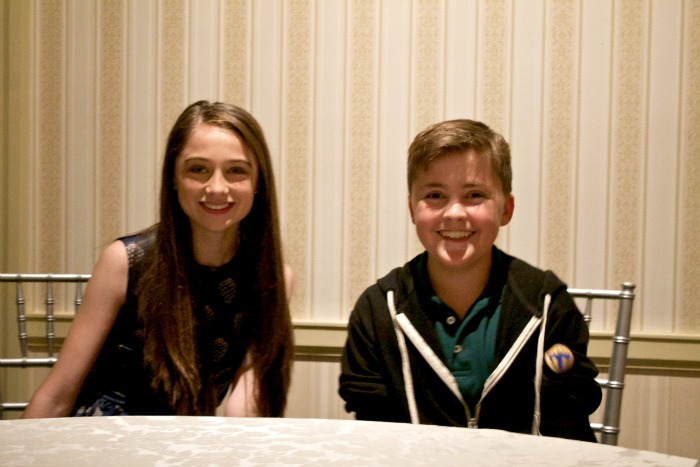 tomorrow My Interview with Raffey Cassidy and Thomas Robinson from Tomorrowland! #TomorrowlandBloggers